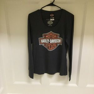 Harley Davidson Long Sleeve Top